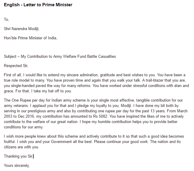 the indian handwritten letter co