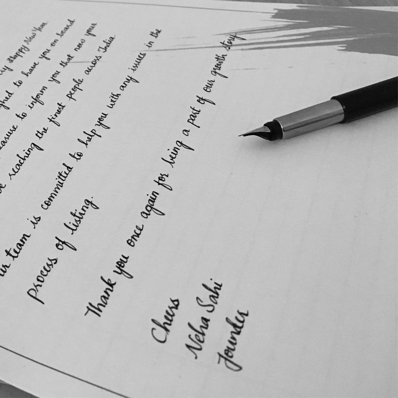 how to write and send a personal letter handwritten letter to your best friend handwritten letters for sister handwritten birthday letters in india