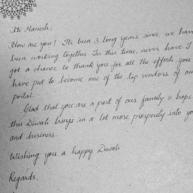 the n handwritten letter co why handwritten letters