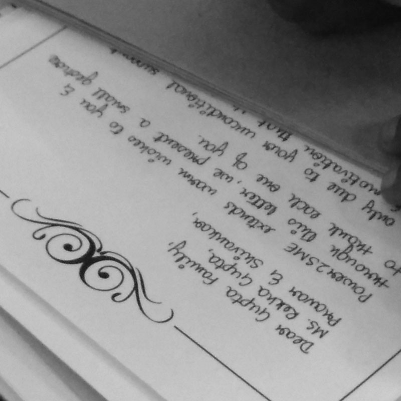 How to Write & Send a Personal Handwritten Letter In India